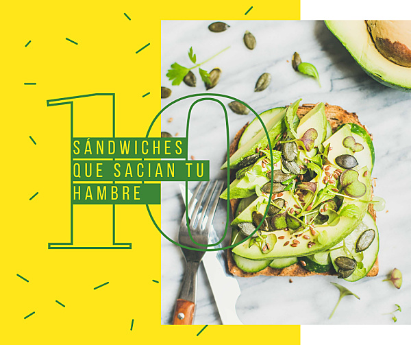10 sándwiches saludables