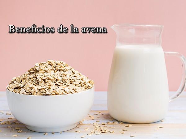 Los beneficios de la leche de avena