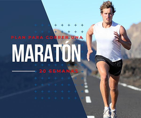 Plan para correr una maratón