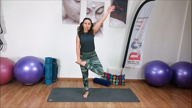 Yoga para estirar y relajar