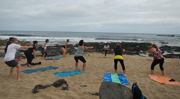 Es bueno hacer deporte en la playa
