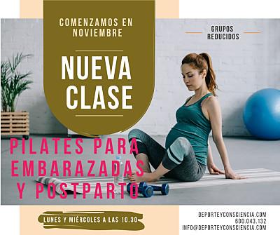 Clases de Pilates para embarazadas